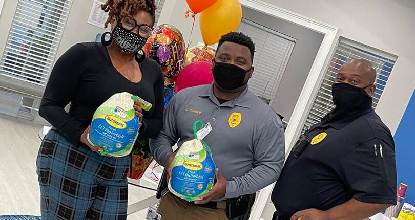 The Summit Apartment Homes hosts turkey drive